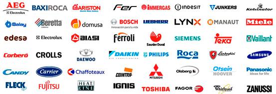 reparacion de todas las marcas de calderas de gas, gasoleo, electricas y pellets