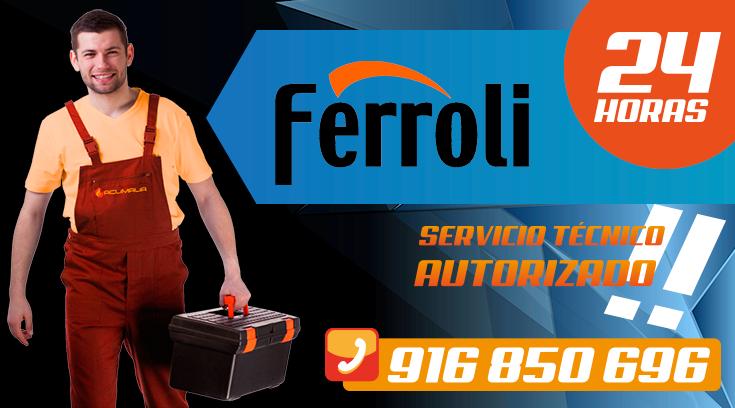 Servicio tecnico Ferroli en Leganes