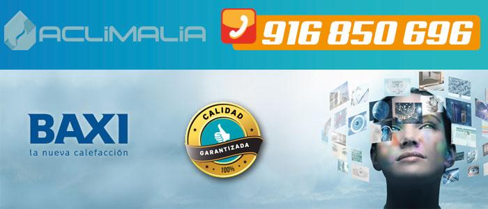 Ya puedes instalar en Leganes las nuevas calderas Platinun Compact eco Baxi