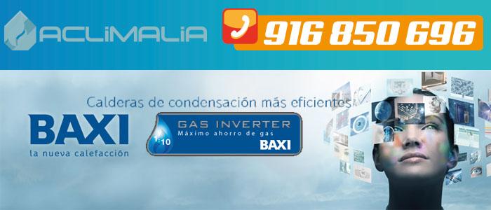 Calderas de condensacion con tecnologia Gas Inverter Baxi