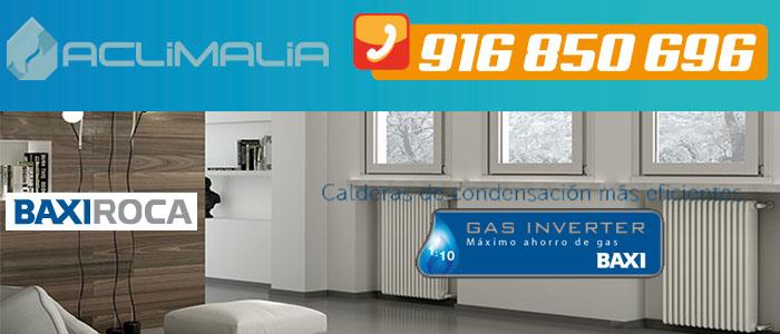Ahorrar calefaccion con calderas de gas BaxiRoca