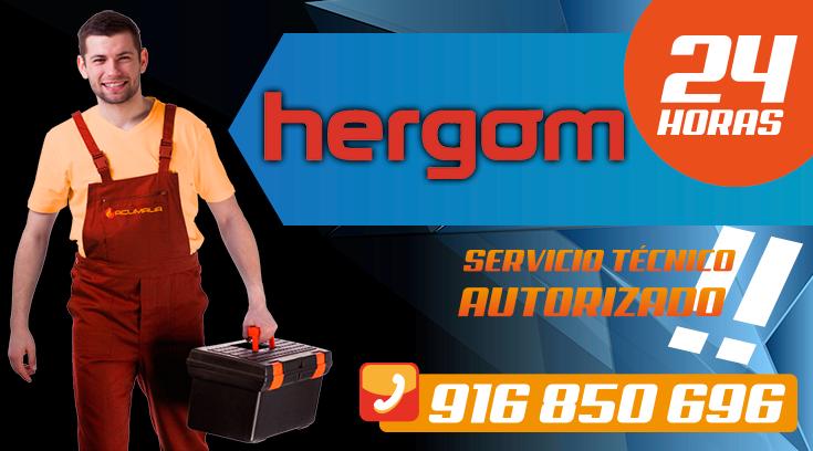 Servicio tecnico Hergom en Leganes