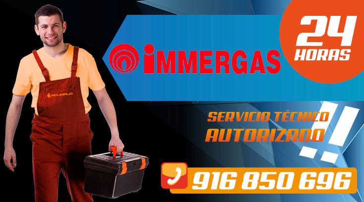 Servicio tecnico Immergas en Leganes