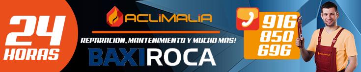Reparacion de calderas BaxiRoca Alcorcon