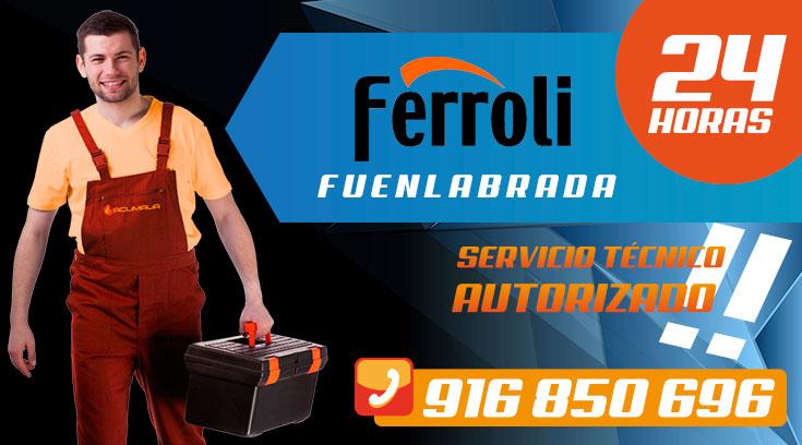 Servicio tecnico Calderas Ferroli Fuenlabrada