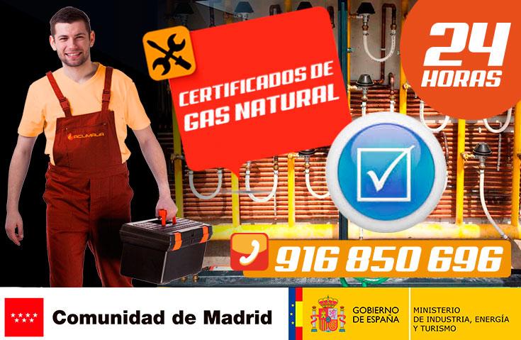 Certificados de gas natural en Leganés