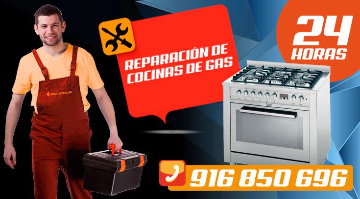 reparación de cocinas de gas en Leganés