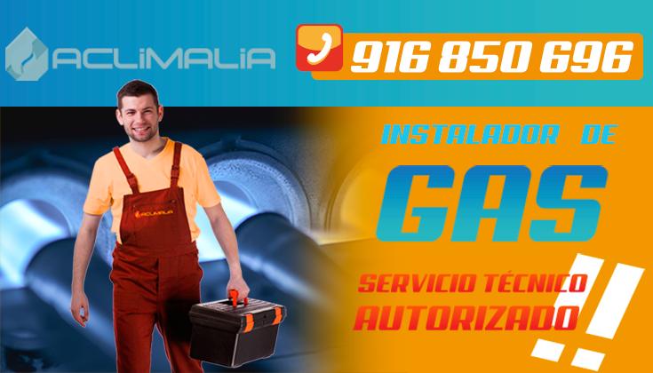 Instalador de Gas en Getafe