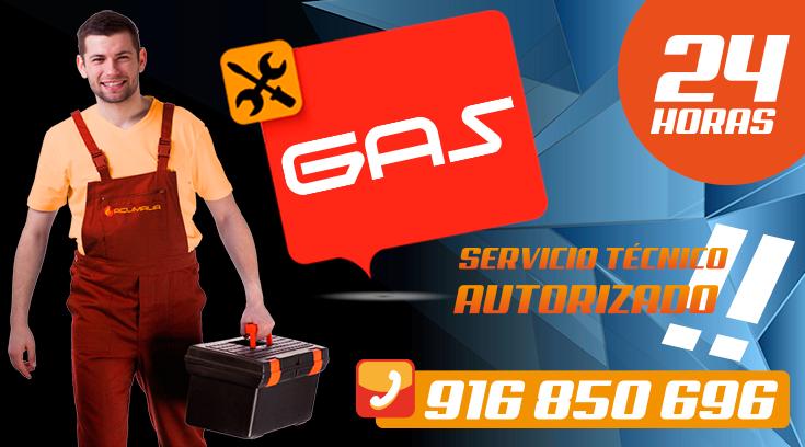 Servicio tecnico de calderas de gas en Leganes