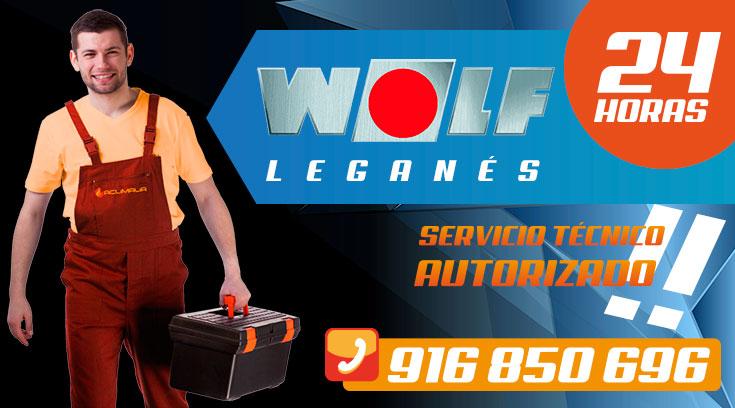 Servicio Técnico Calderas Wolf en Leganés