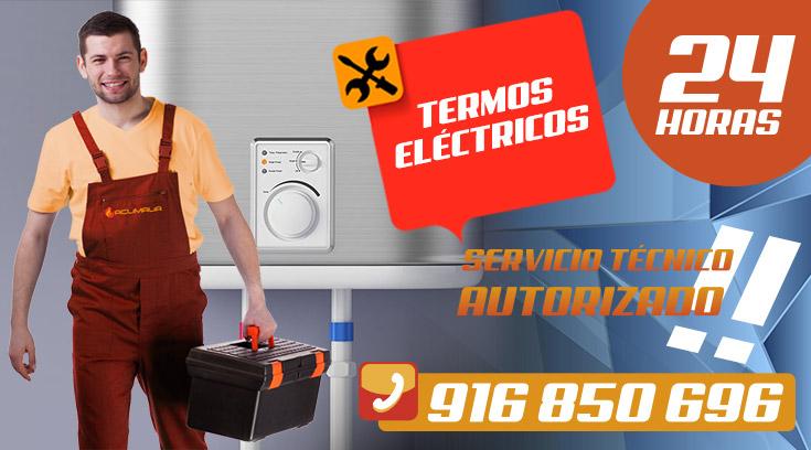 Reparación Termos Eléctricos en Leganés