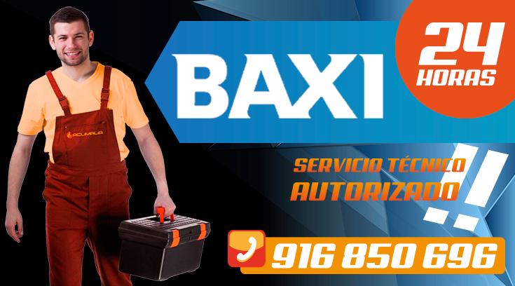 Servicio tecnico Baxi en Leganes